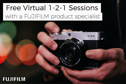 Free personal virtual advice with Fujifilm