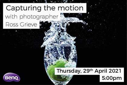Capturing the motion with Ross Grieve