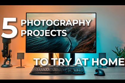 Five Photography Projects You Can Do At Home