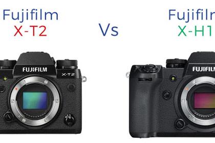 Fujifilm X-H1 vs X-T2 Review