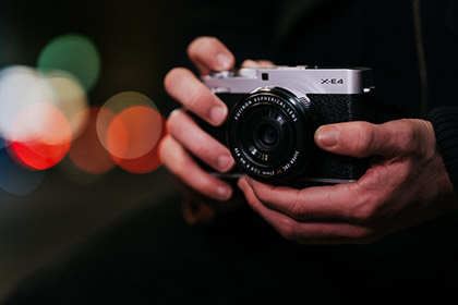 Fujifilm X-E4 Camera And new Lenses