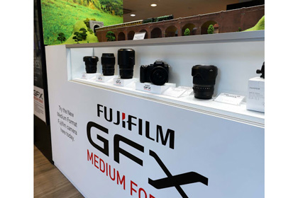New Fujifilm Medium Format Area is Just the Ticket