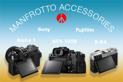 Sony A1 Fujifilm GF100S And X-E4 Accessories