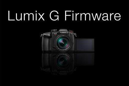 Firmware Updates For Lumix G Cameras