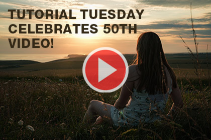Tutorial Tuesday Celebrates 50th Video