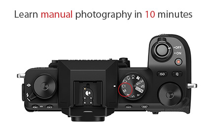 Learn Manual Photography in 10 Minutes