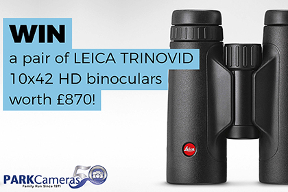 Win a pair of LEICA TRINOVID 10x42 HD Binoculars worth £870!