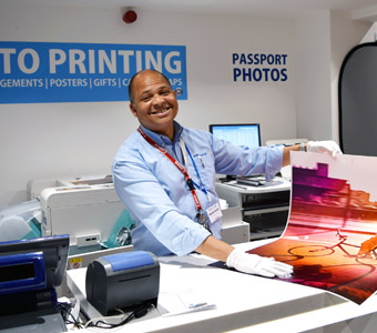 In store photo printing