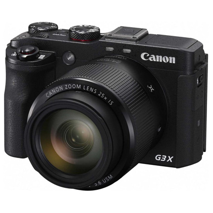 Canon PowerShot G3 X Ex Demo Missing Charger
