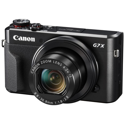 Canon PowerShot G7 X Mark II Compact Digital Camera
