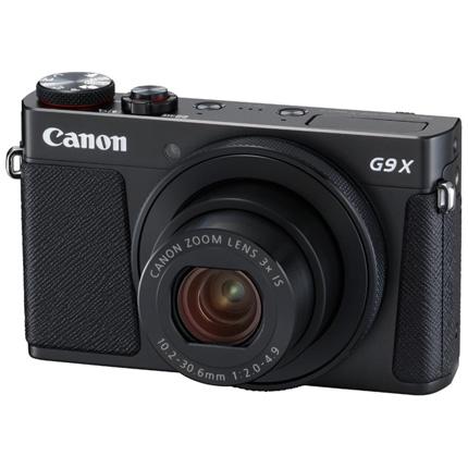 Canon PowerShot G9 X Mark II Compact Digital Camera Black