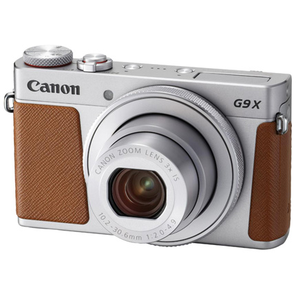 Canon PowerShot G9 X Mark II Compact Digital Camera Silver