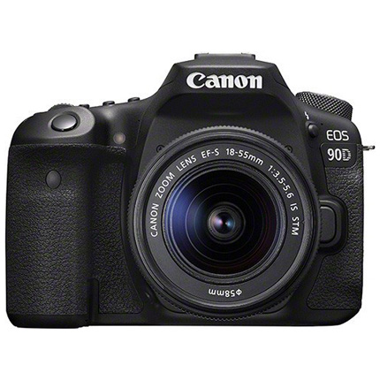 Canon EOS 90D DSLR Camera With 18-55mm IS STM Zoom Lens Kit