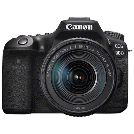Canon EOS 90D DSLR Camera With 18-135mm IS USM Zoom Lens Kit