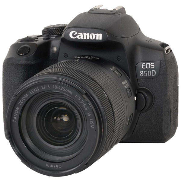 Canon EOS 850D DSLR With 18-135mm Lens Kit