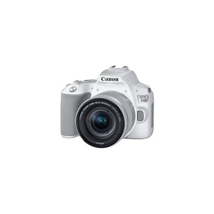 Canon EOS 250D Body With EF-S 18-55mm f/4-5.6 IS STM Lens Kit White