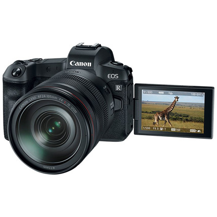 Canon EOS R Mirrorless Camera + 24-105mm f/4L IS Lens Kit Video 02