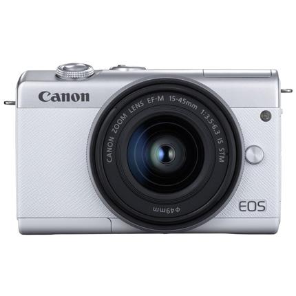 Canon EOS M200 + 15-45mm White