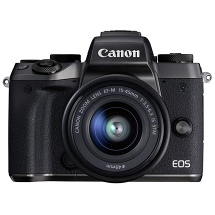 Canon EOS M5 Mirrorless Camera With EF-M 15-45mm IS STM Lens Kit