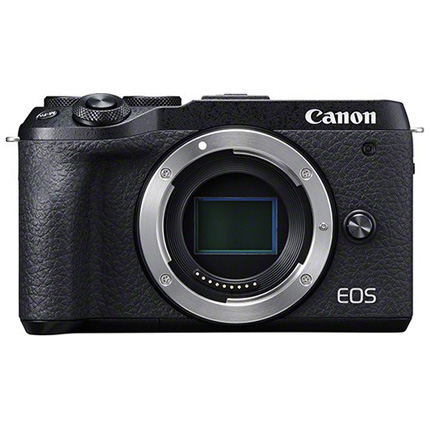 Canon EOS M6 Mk II Compact Mirrorless Camera Body - Black