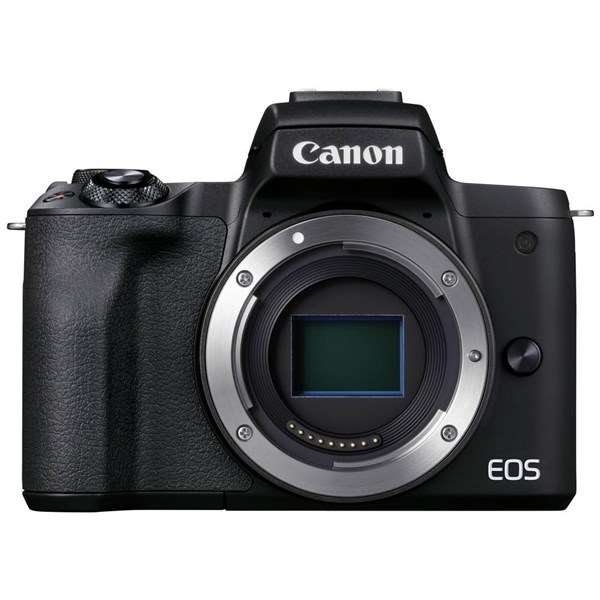 Canon EOS M50 Mark II Mirrorless Camera Body Only Black