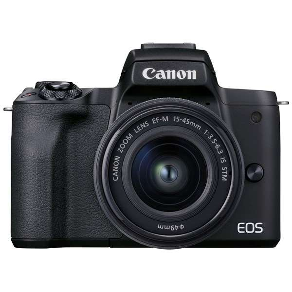 Canon EOS M50 Mark II Mirrorless Camera With 15-45mm Lens Black