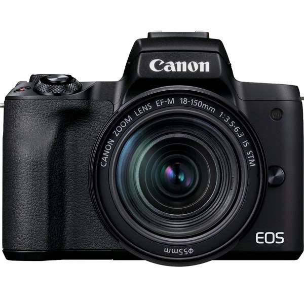 Canon EOS M50 Mark II Mirrorless Camera With 18-150mm Lens Black