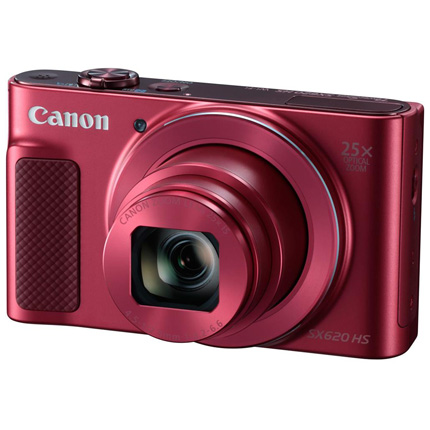 Canon PowerShot SX620 HS Compact Digital Camera Red