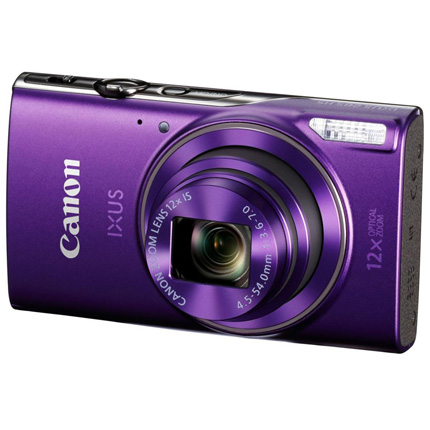 Canon IXUS 285 HS Compact Digital Camera Purple