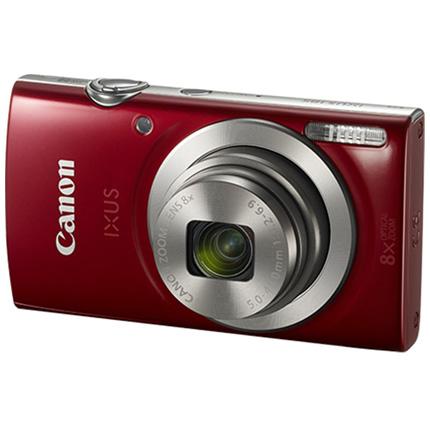 Canon IXUS 185 Compact Digital Camera Red