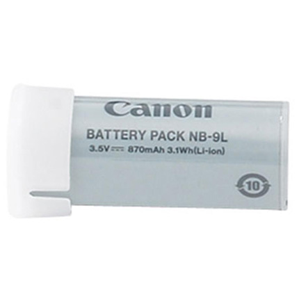 Canon NB 9L Battery Pack