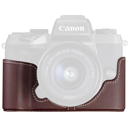Canon EH29-CJ Brown Body Jacket for the EOS M5