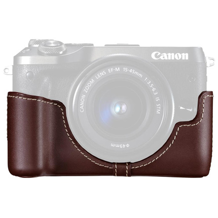 Canon EH30-CJ Brown Body Jacket for EOS M6