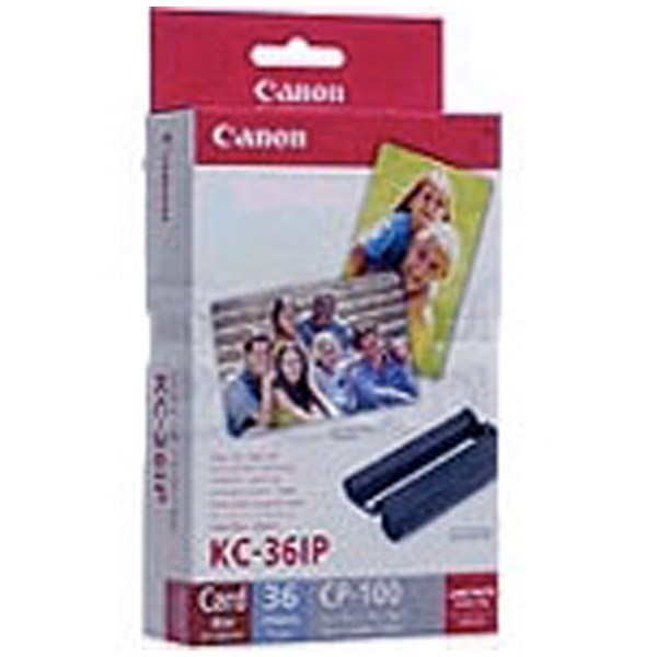 Canon KC-36IP Colour Ink/Paper Set - Open Box