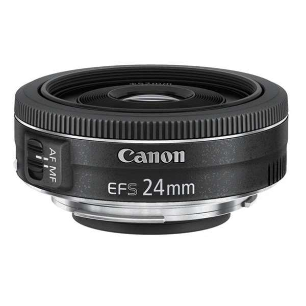 Canon EF-S 24mm f/2.8 STM Wide Angle Pancake Lens