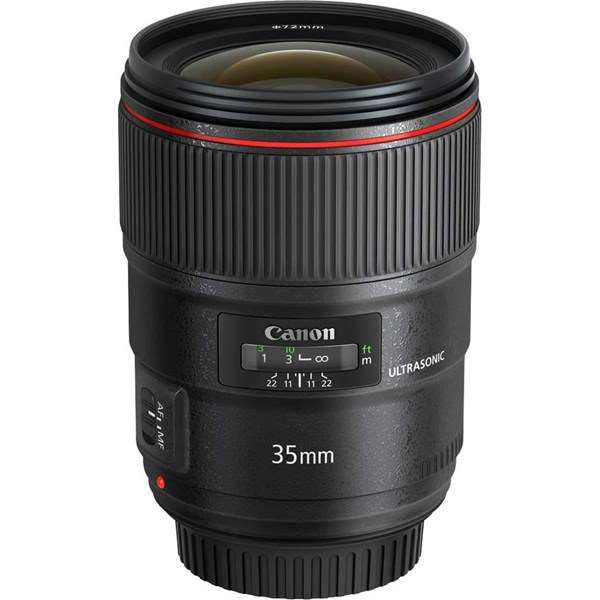 Canon EF 35mm f/1.4L II USM Wide Angle Lens