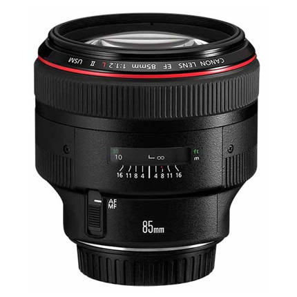 Canon EF 85mm f/1.2L II USM Short Telephoto Lens