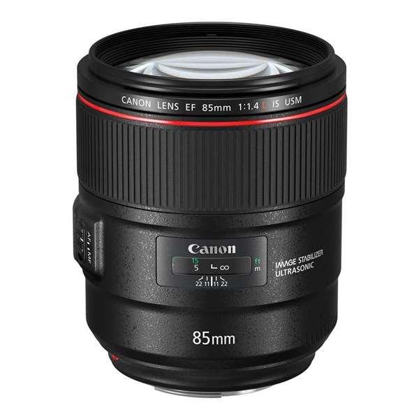Canon EF 85mm f/1.4L IS USM Short Telephoto Lens