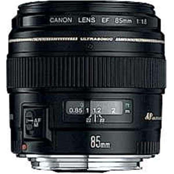 Canon EF 85mm f/1.8 USM Short Telephoto Lens