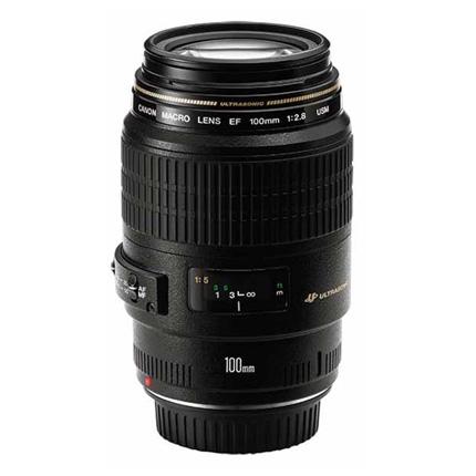 Canon EF 100mm f/2.8 USM Autofocus Macro Lens