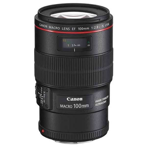 Canon EF 100mm f/2.8L IS USM Autofocus Macro Lens