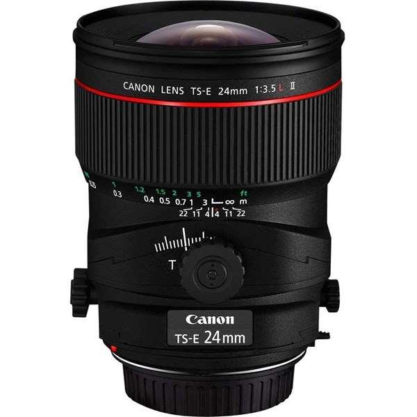 Canon TS-E 24mm f/3.5L II Manual Focus Tilt Shift Lens