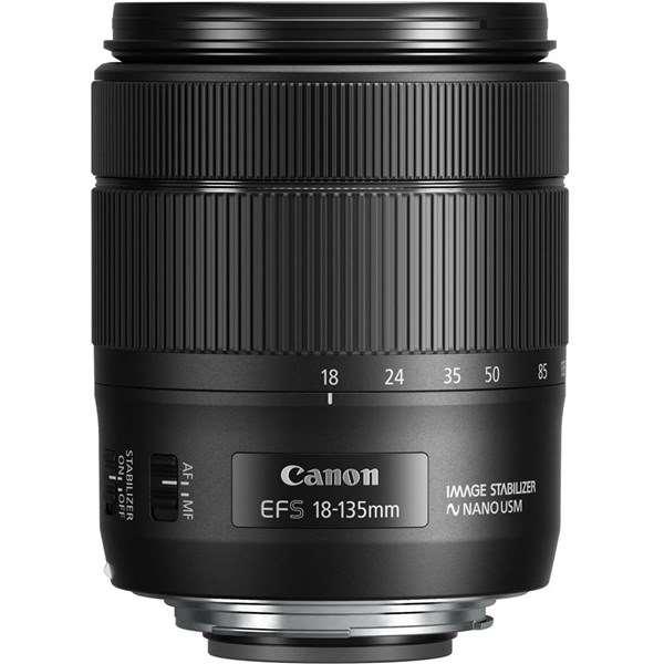 Canon EF-S 18-135mm f/3.5-5.6 IS USM Zoom Lens Ex Demo