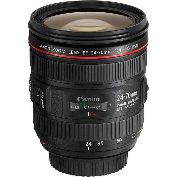 Canon EF 24-70mm f/4L IS USM Zoom Lens Ex Demo