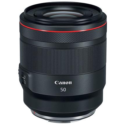 Canon RF 50mm lens f/1.2 L USM