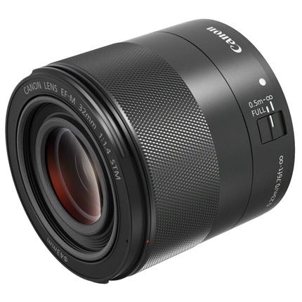 Canon EF-M 32mm lens f/1.4 Macro STM