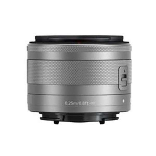 Canon EF-M 15-45mm f/3.5-6.3 IS STM Zoom Lens Silver