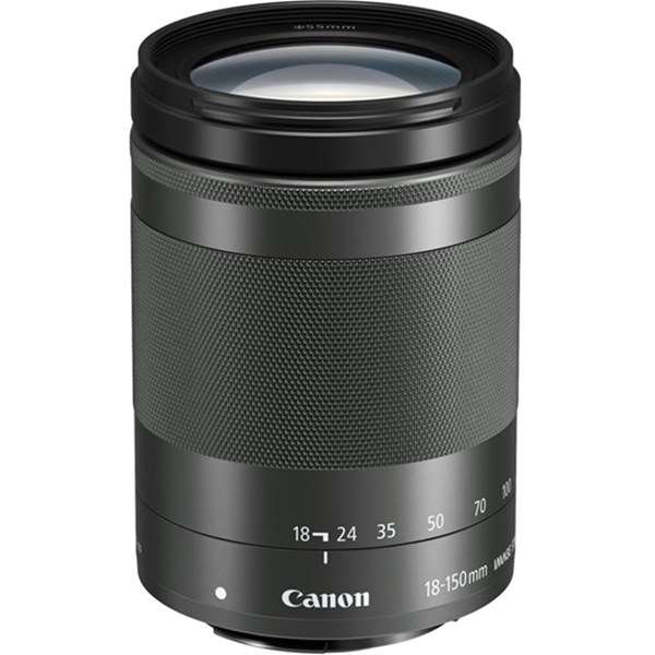 Canon EF-M 18-150mm f/3.5-6.3 IS STM Zoom Lens Black