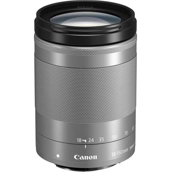 Canon EF-M 18-150mm f/3.5-6.3 IS STM Zoom Lens Silver