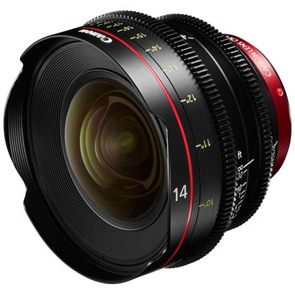 Canon CN-E14mm T3.1 L F Prime Cine Lens